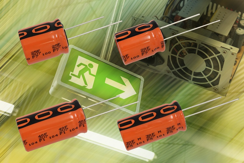 RS Components stocks high-density capacitors from Vishay