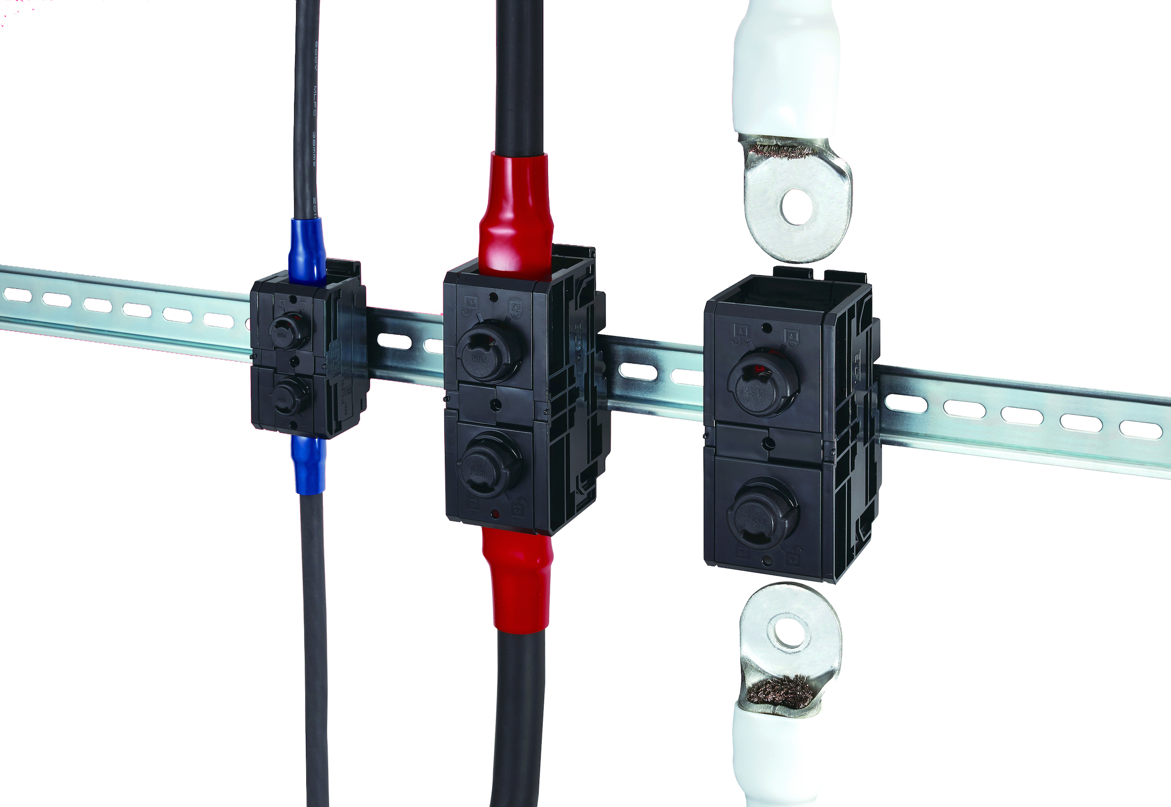 Screwless Terminal Block Reduces Maintenance by up to 40%
