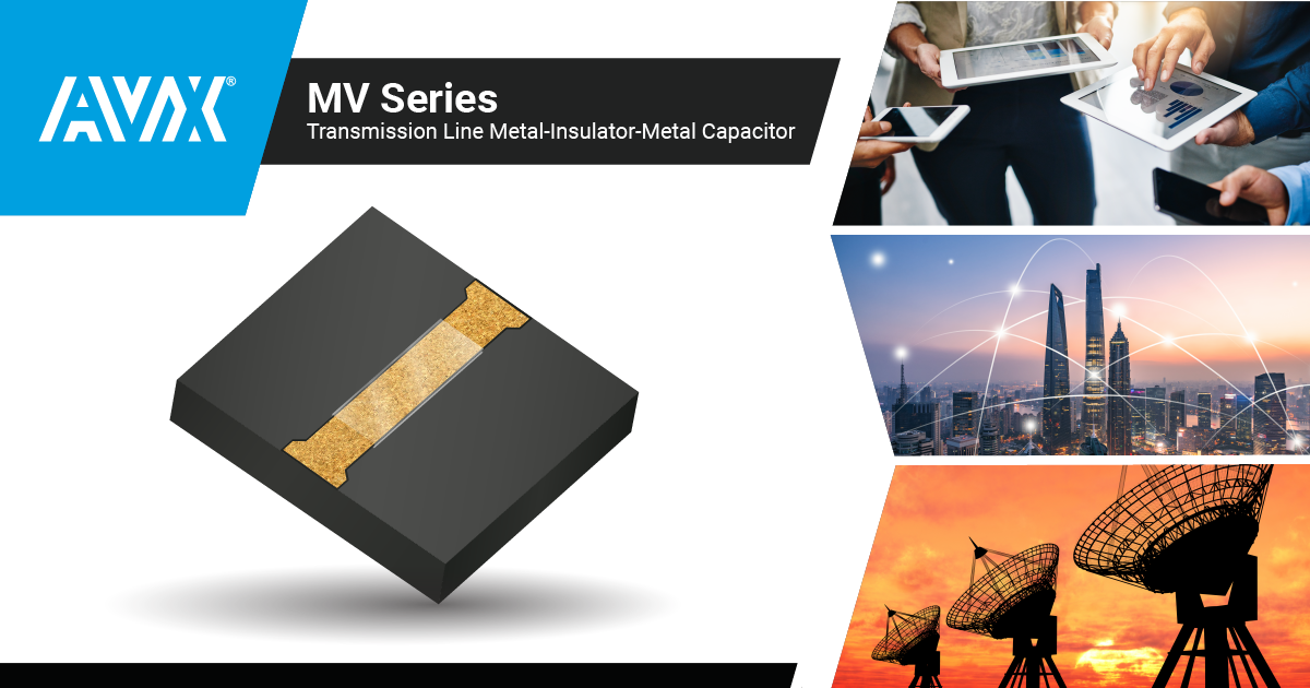 Capacitors for High-Performance Microwave & RF Applications