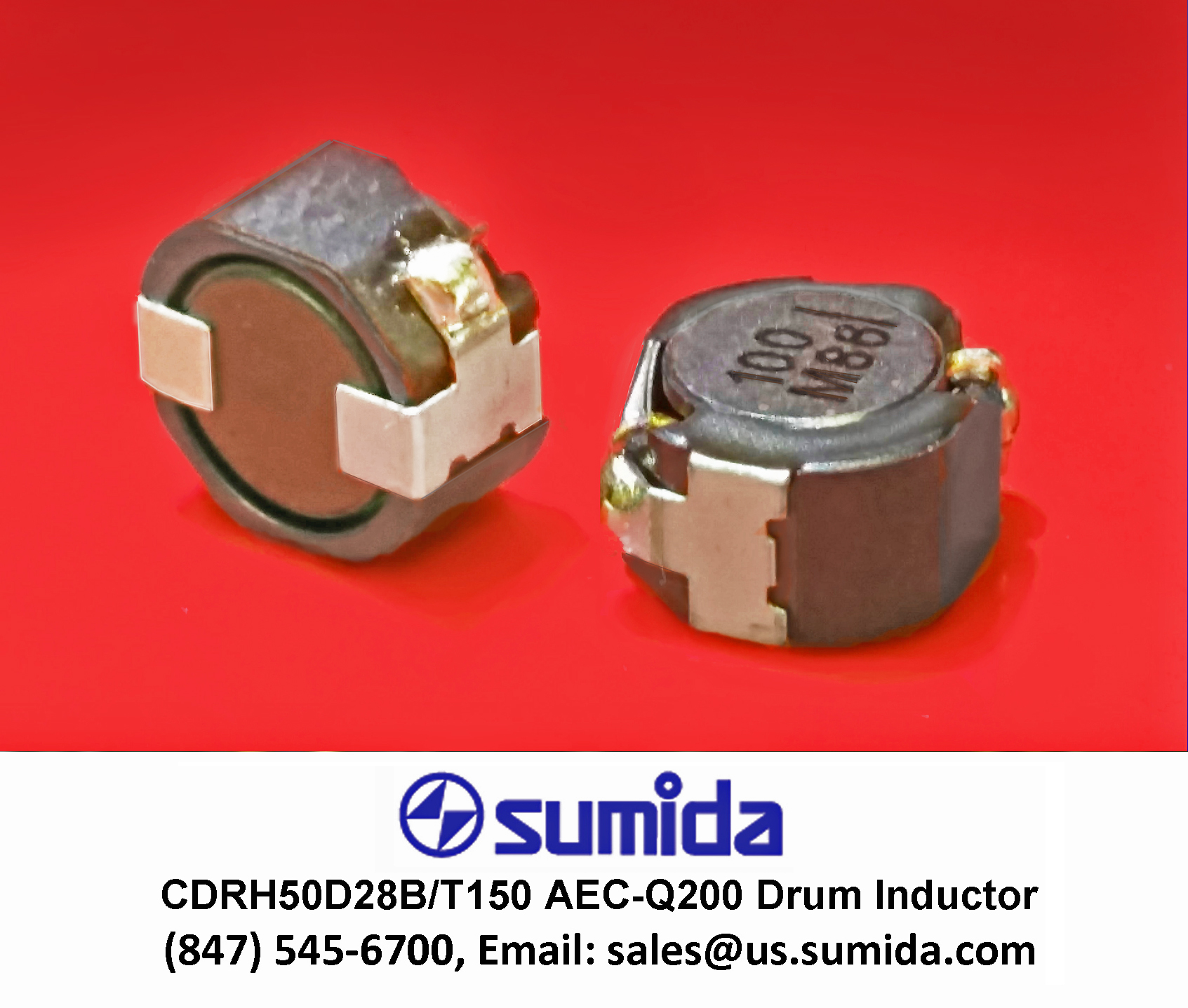 Shielded Drum Inductor Designed for Automotive Applications