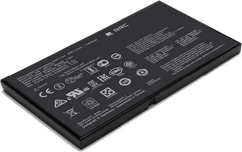 8 mm Lithium-Ion Smart Battery Pack Fits into Slim Devices
