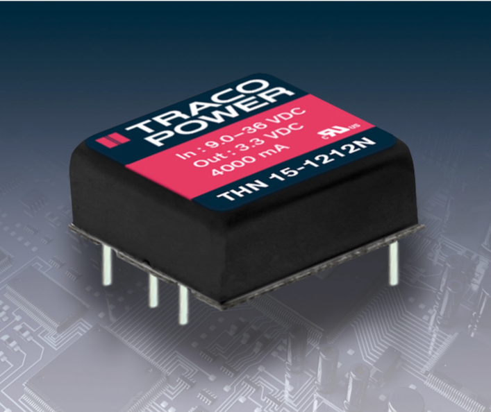 DC/DC Converter Saves Space in Mobile Equipment