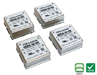 15W to 30W DC-DC Converters Offer a Dual-Output Solution