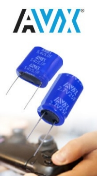 AVX High-Energy Density Supercaps in Stock at TTI