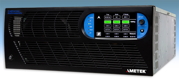 AMETEK Programmable Power Expands Line of AC Power Sources
