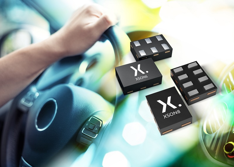 Industry's smallest logic parts approved for automotive
