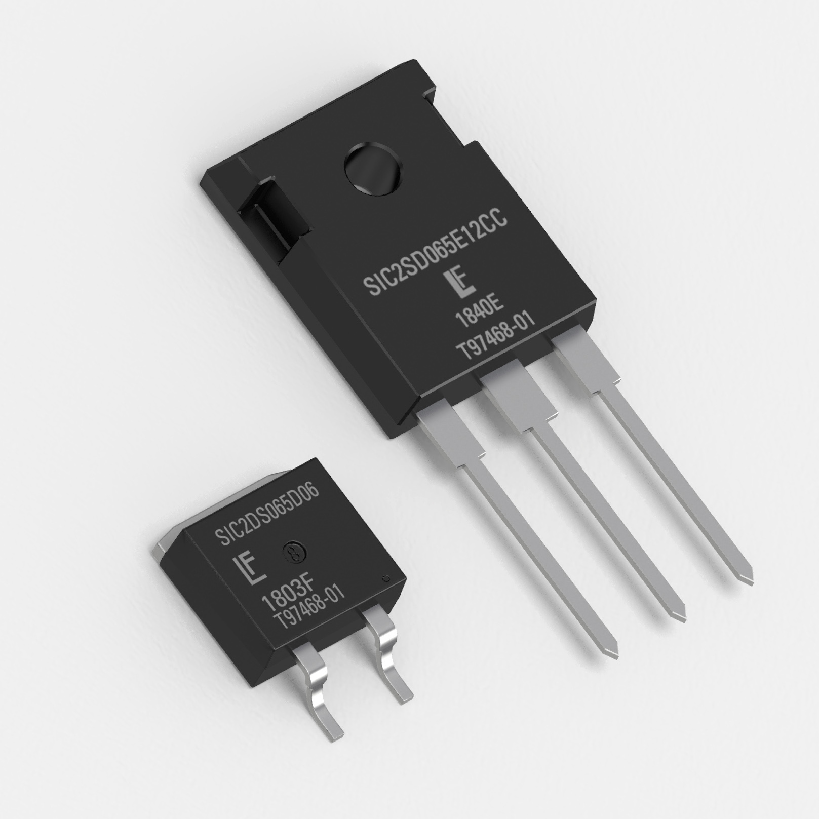 650V SiC Schottky Diodes with Current Ratings from 6A to 40A