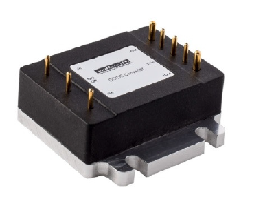 Encapsulated 16th-Brick Converters Accept 9 to 36V DC Inputs
