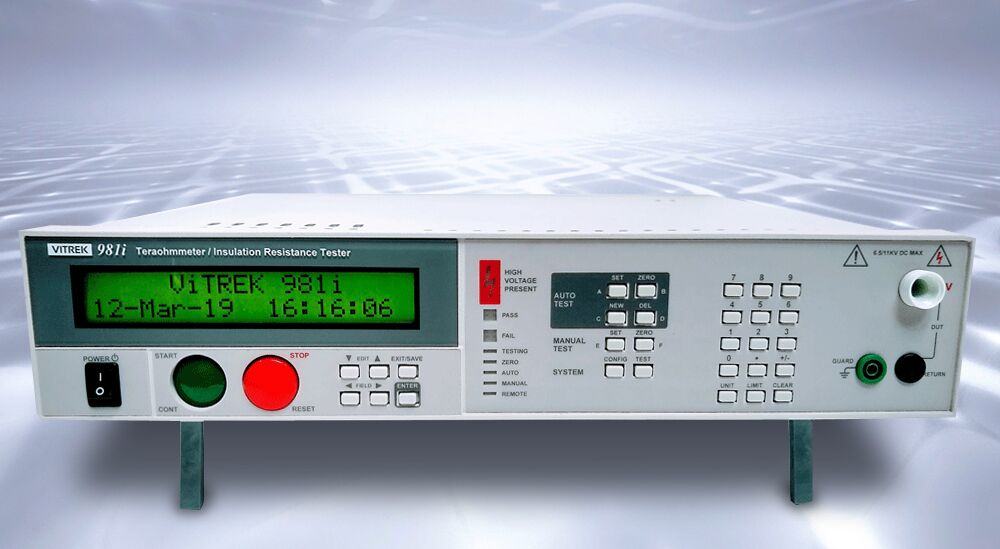 Teraohmmeter Meets Demands for Higher-Voltage IR Testing