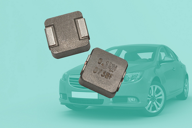 Inductor Offers Operating Temperature to +155°C