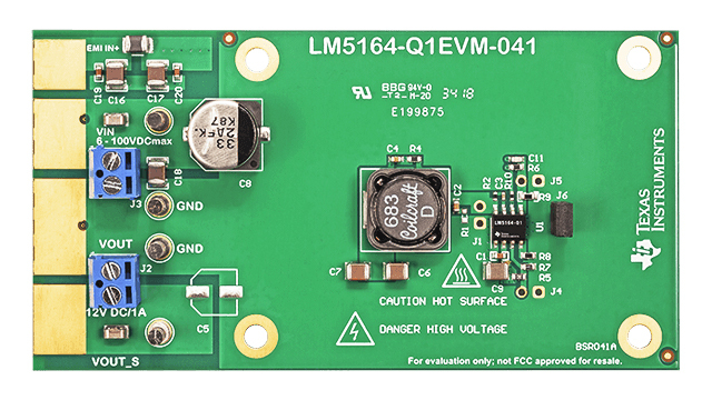 Eval Module for 300-kHz Synchronous Step-Down Converter