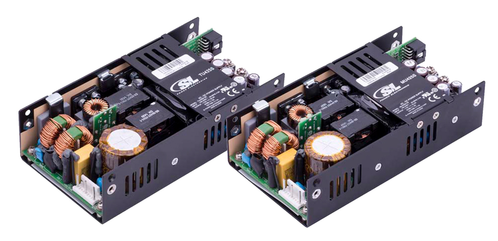 425W Power Supplies with Approvals for Various Applications