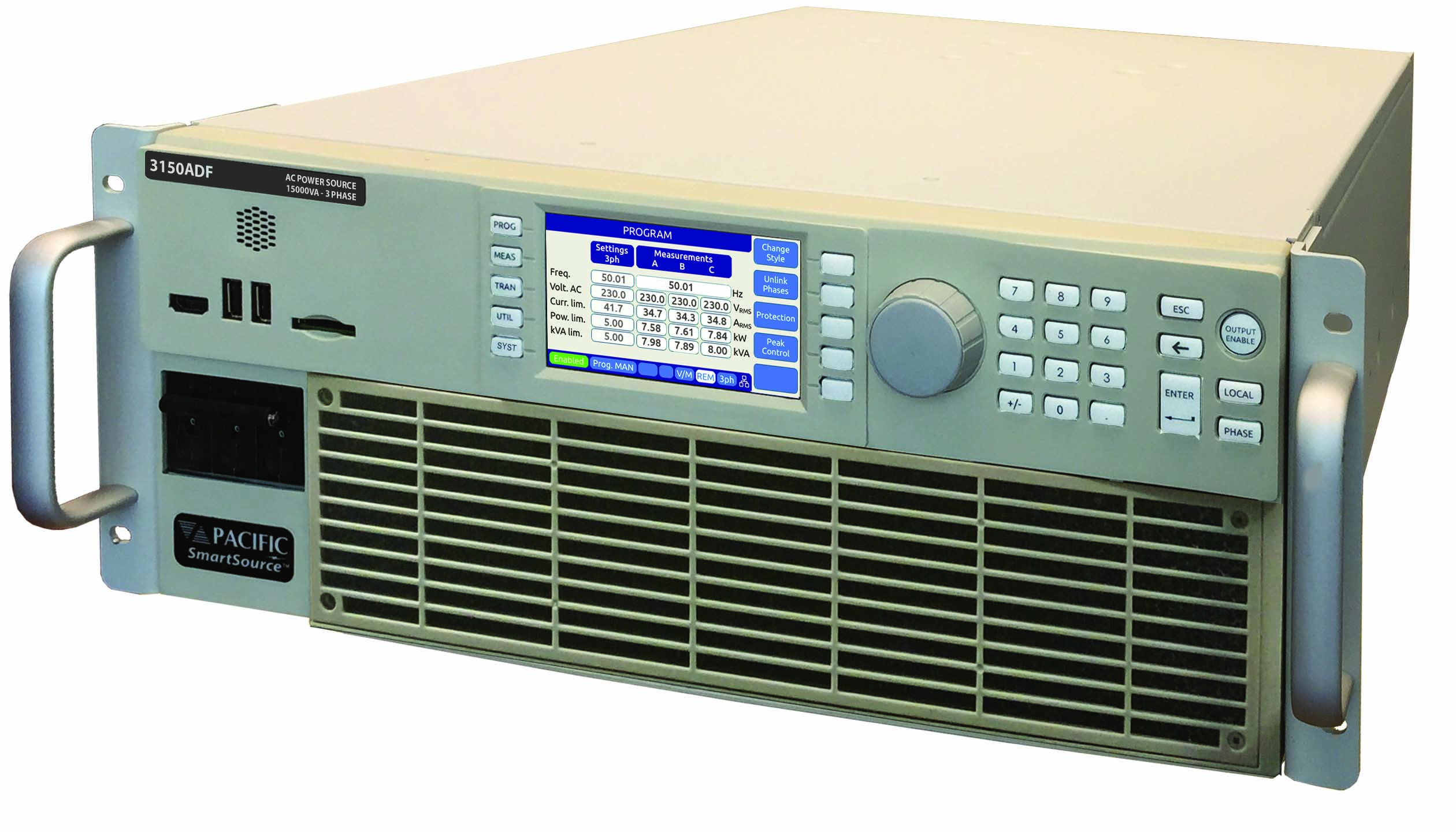 New ADF Series Programmable AC Power Sources