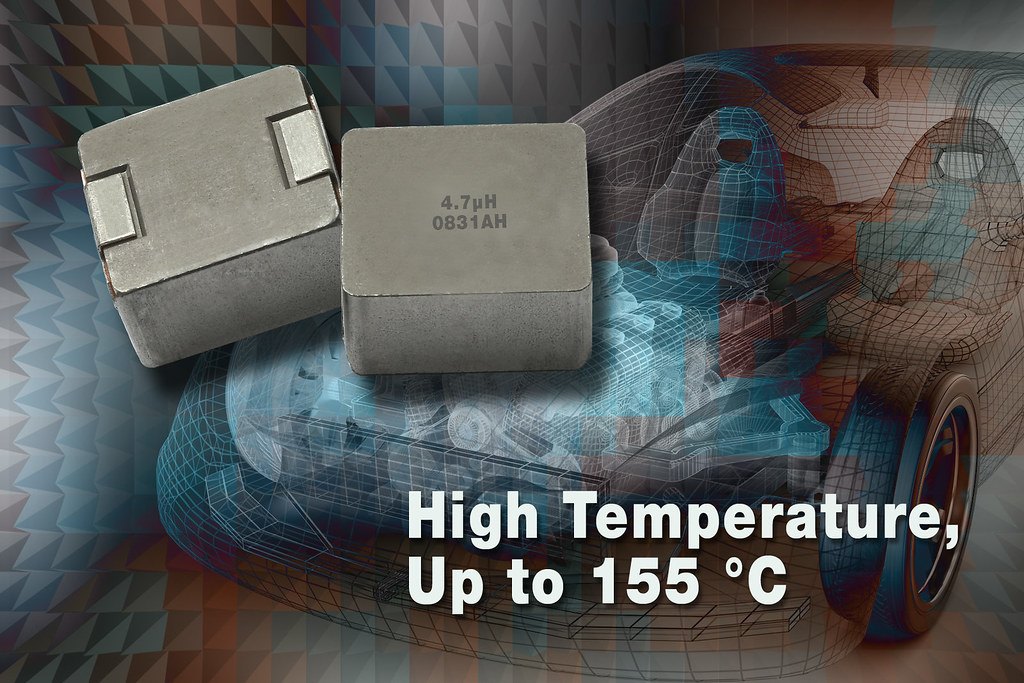 Automotive-Grade Inductor Offers Temperature to +155°C