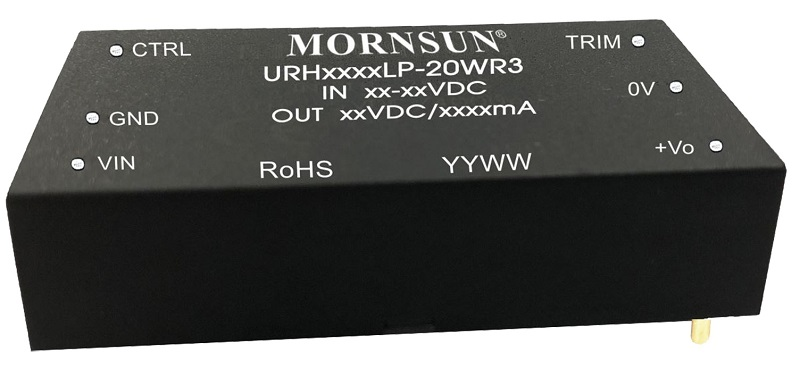 MORNSUN 20W High Isolation Medical Power URH-LP-20WR3 Series