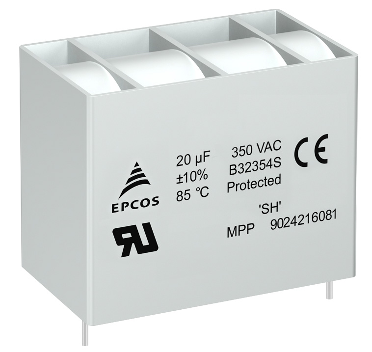 TDK Announces Rugged UL 810-Approved AC Filter Capacitors