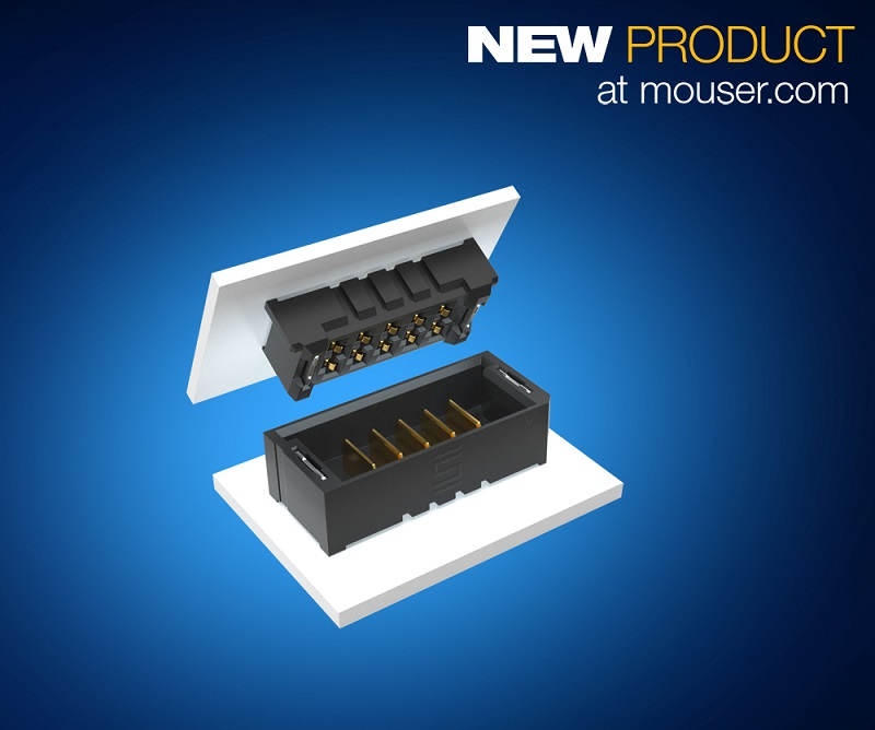 Samtec's mPOWER Ultra Micro Power Connectors Now at Mouser