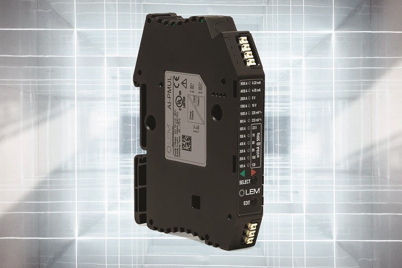 LEM introduces AI-PMUL digital integrator for Rogowski coils