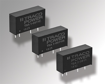 Cost-Optimized 1 & 2 Watt DC/DC Converters