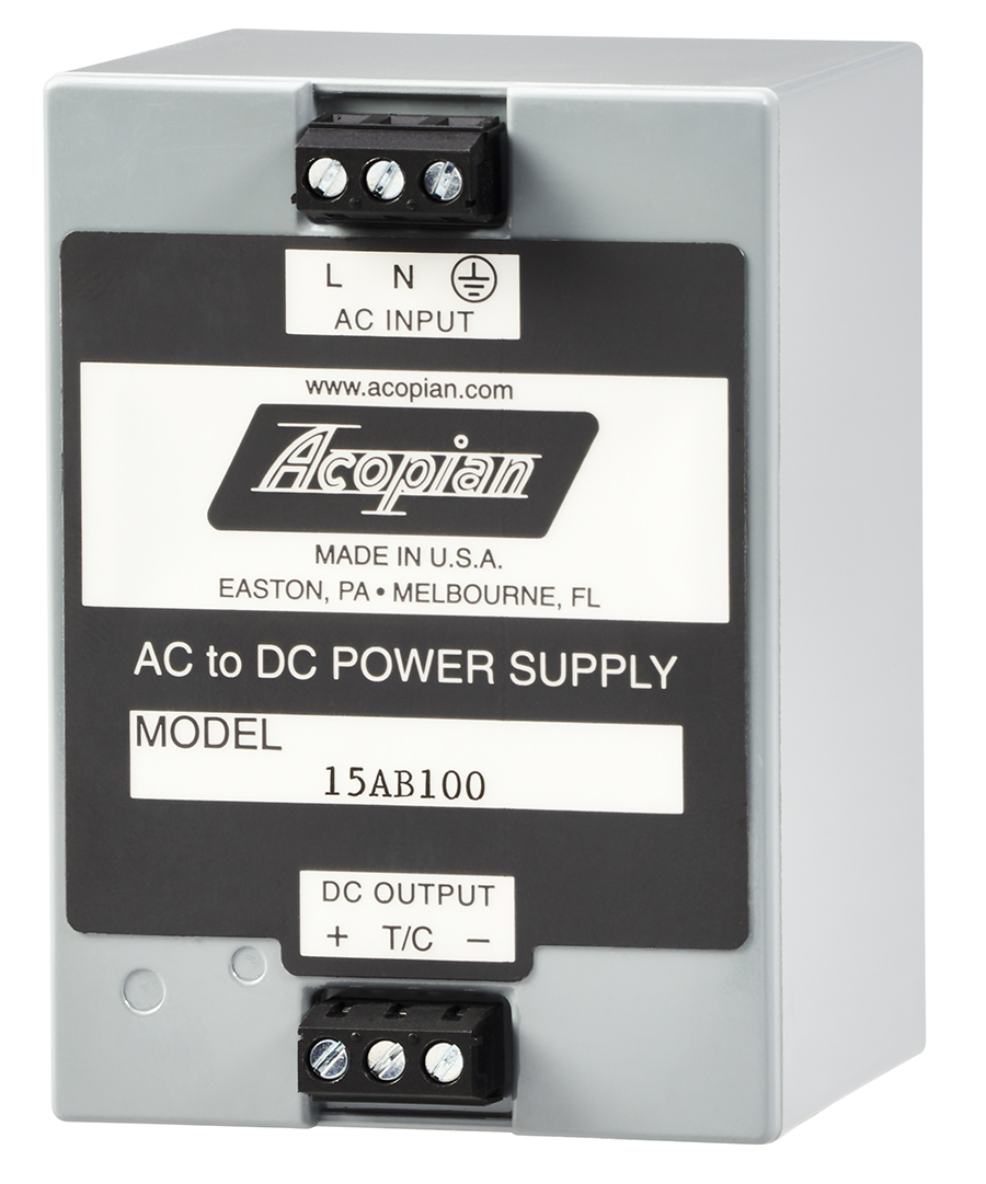 Power Supplies Offered with Outputs from 3.3 to 48 VDC