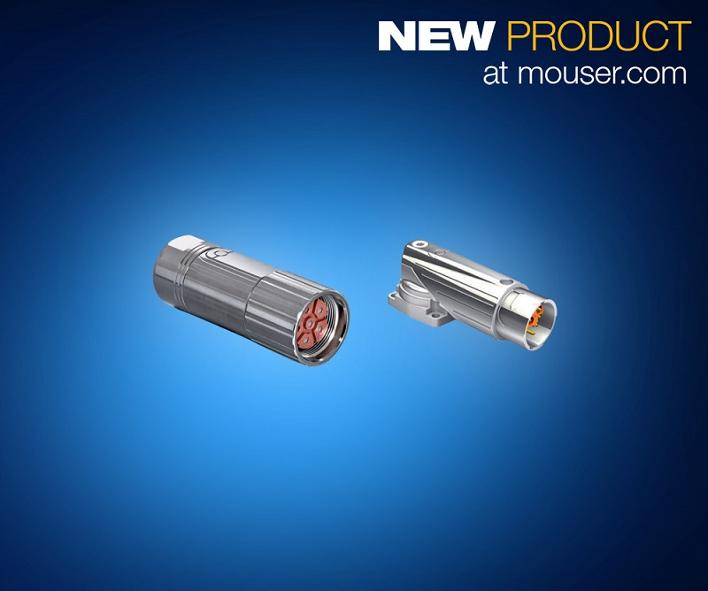 Now at Mouser: TE Connectivity's Intercontec Connectors