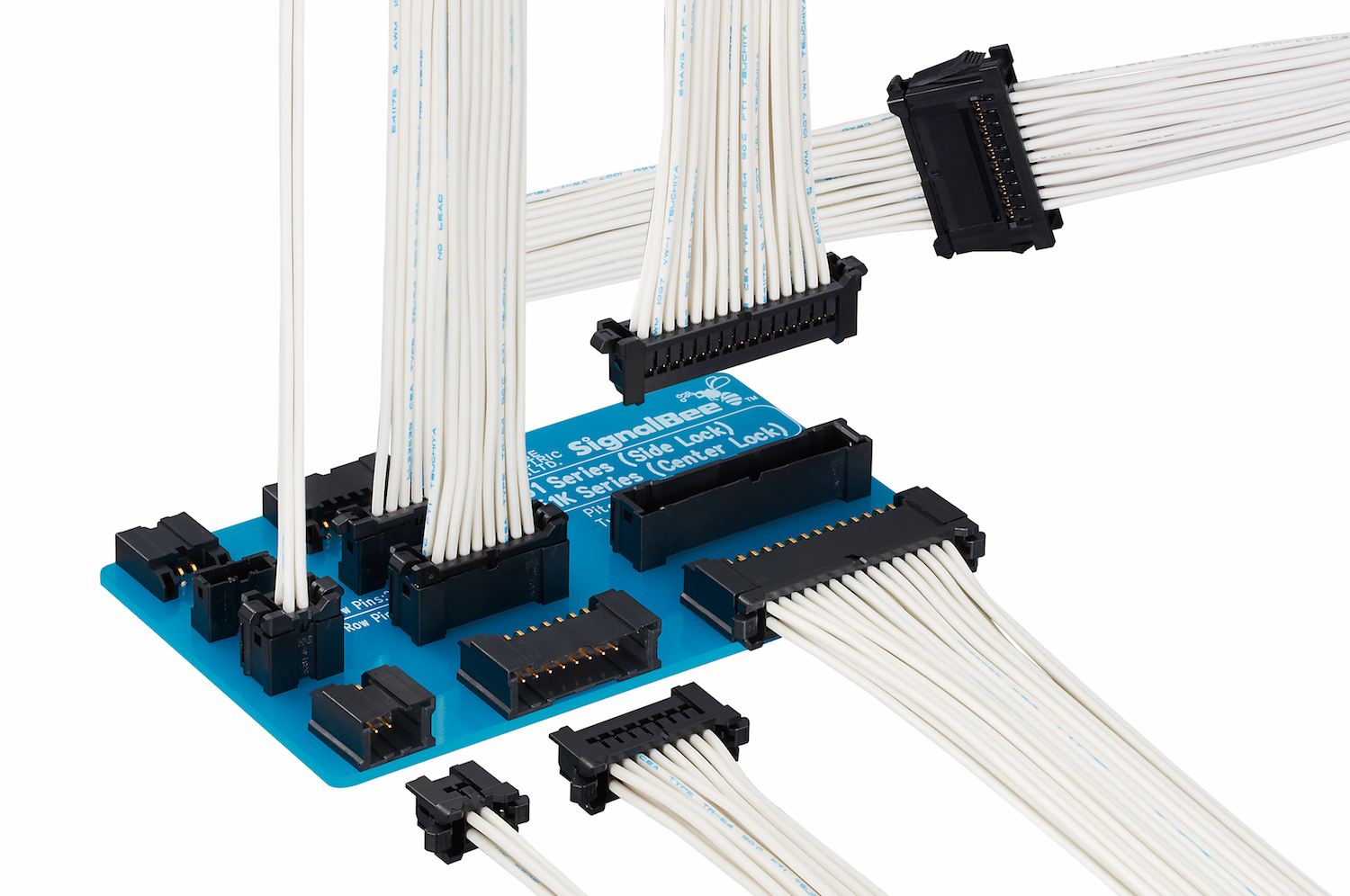 Wire-to-Board Connector Reduces System Size