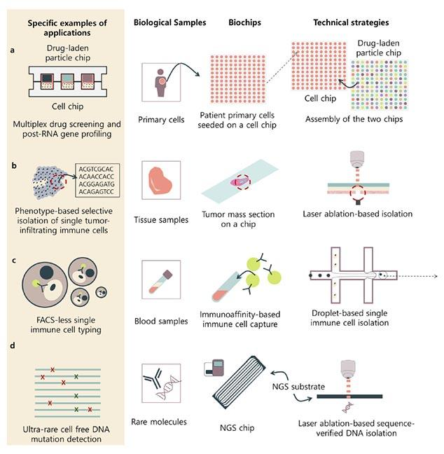 Biochip Advances for Next-Generation Sequencing Technologies