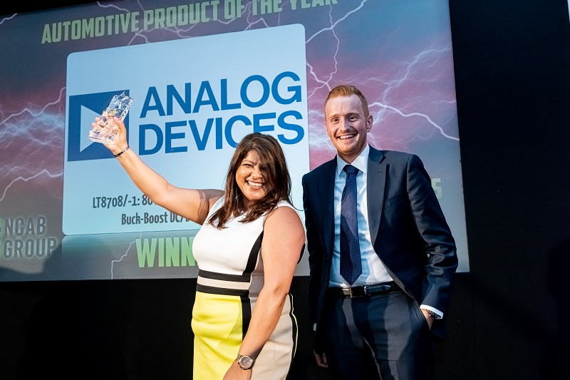 Analog Devices wins award for automotive power management