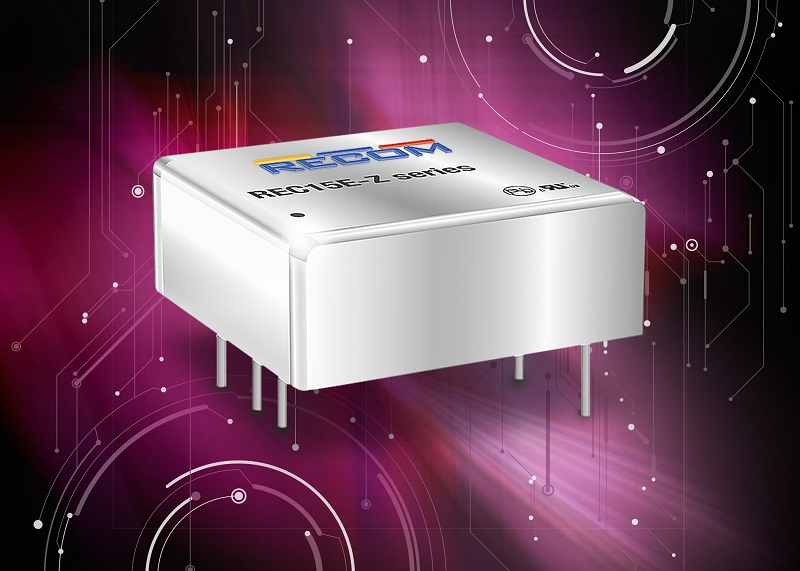 Wide-input 1�x1� 15W isolated converters deliver flexibility