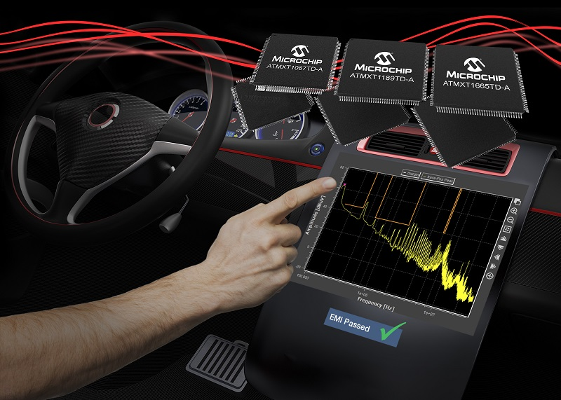 Accelerate EMI qualification of automotive touchscreens