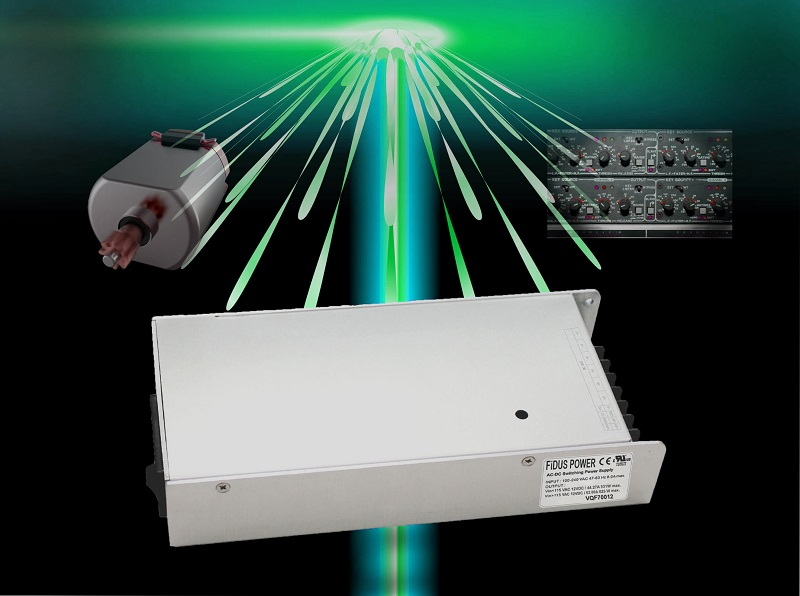 Low-profile, wide operating temperature range 700W power supply