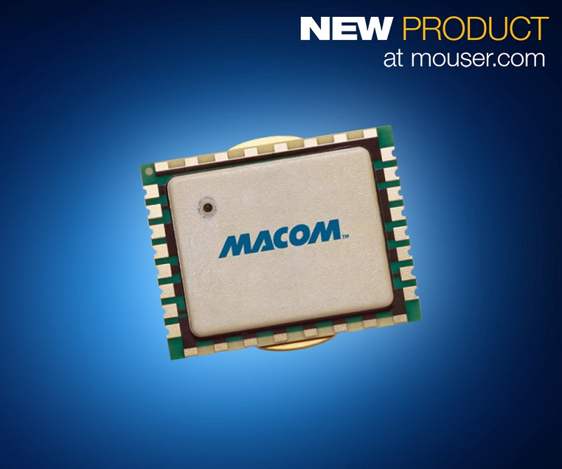 MACOM's 10W GaN-on-Si Power Amp Module, Now at Mouser