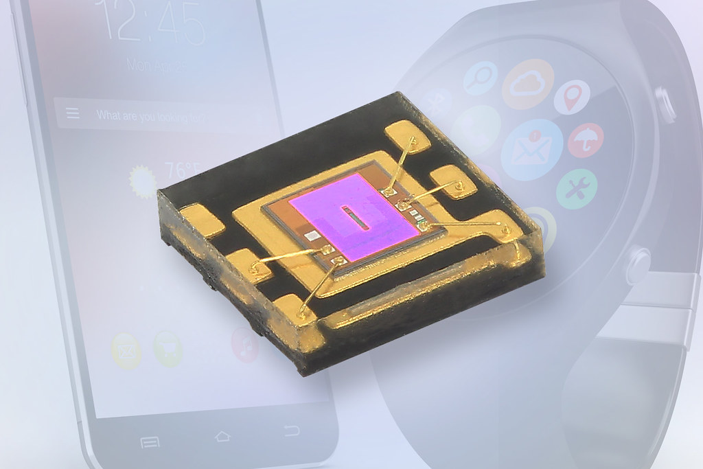 Ambient Light Sensor Targets Wearables and Smartphones
