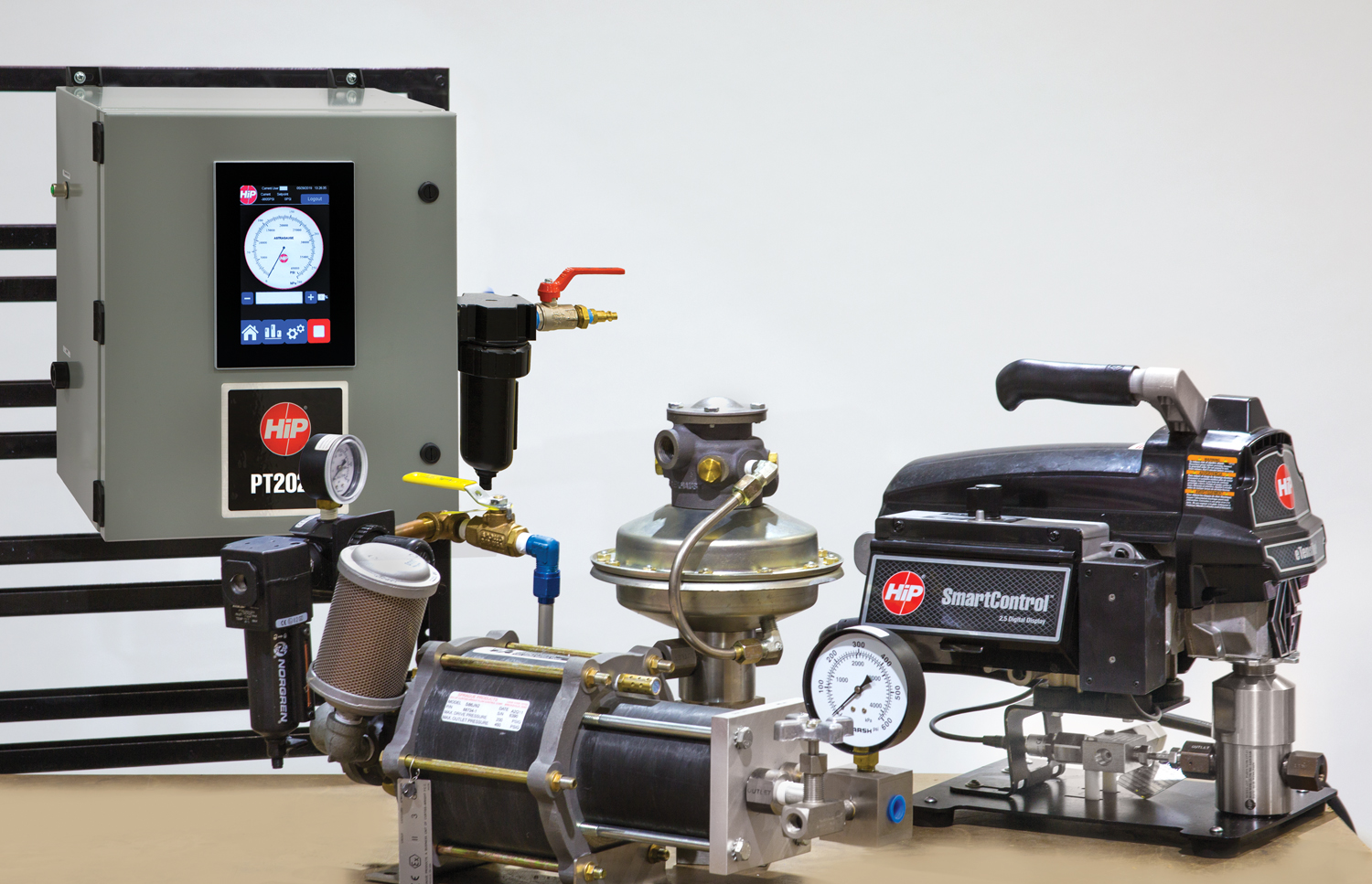 Automated Control System for High Pressure Hydraulic Pumps