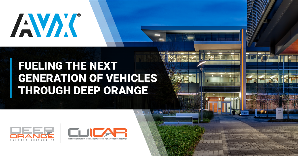 AVX Fuels Vehicle Prototyping through Deep Orange