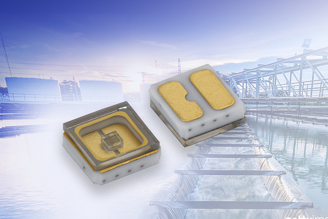 Long-Life Ceramic/Quartz-Based UVC Emitting Diode