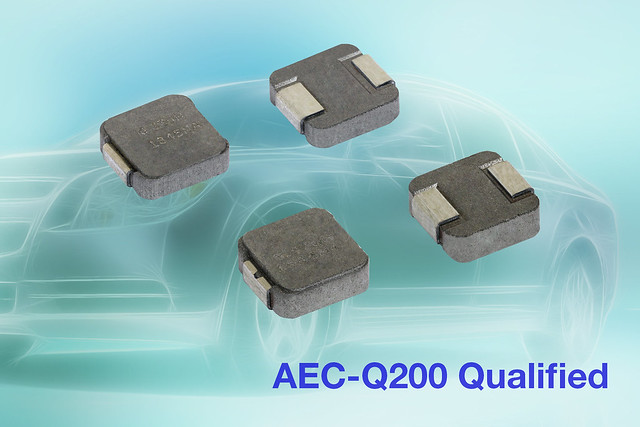 Automotive-Grade IHLP Inductors for Under the Hood Apps
