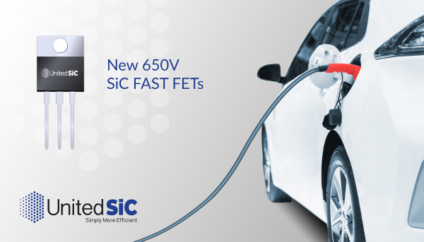 UnitedSiC adds 2 650V SiC FET Packages to UF3C FAST Series