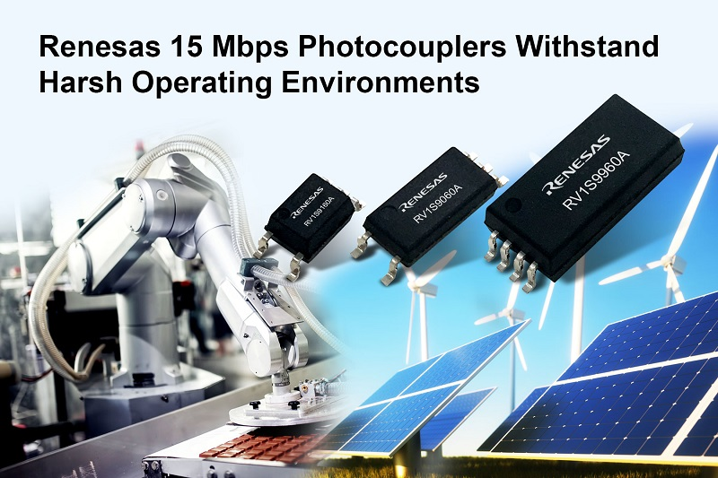 Family of 15 Mbps Photocouplers for Harsh Industrial Applications