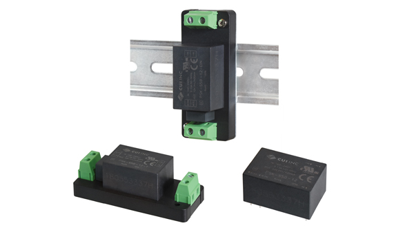AC-DC Power Supplies Offer Multiple Mounting Options