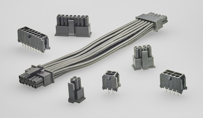 Wire-to-Board Products Deliver up to 12.5A per pin