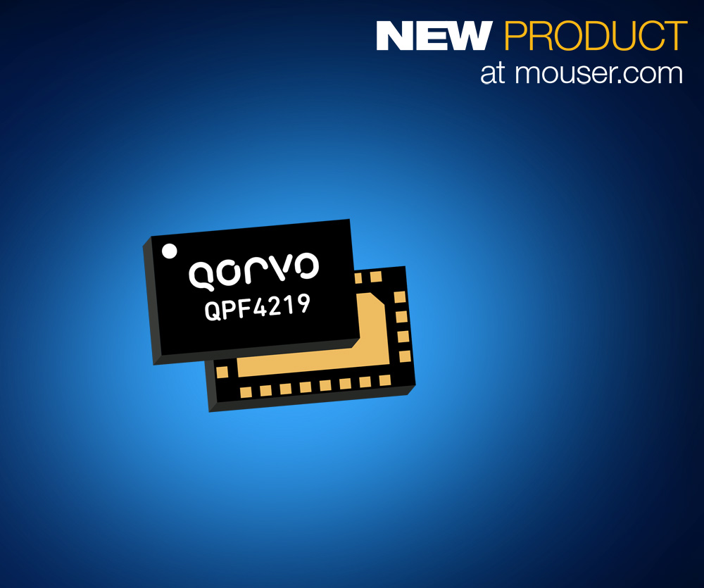 Mouser Electronics Now Stocking Qorvo's Front-End Modules
