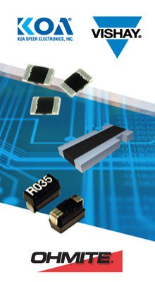 TTI Offers Broad Inventory of Current Sense Resistors