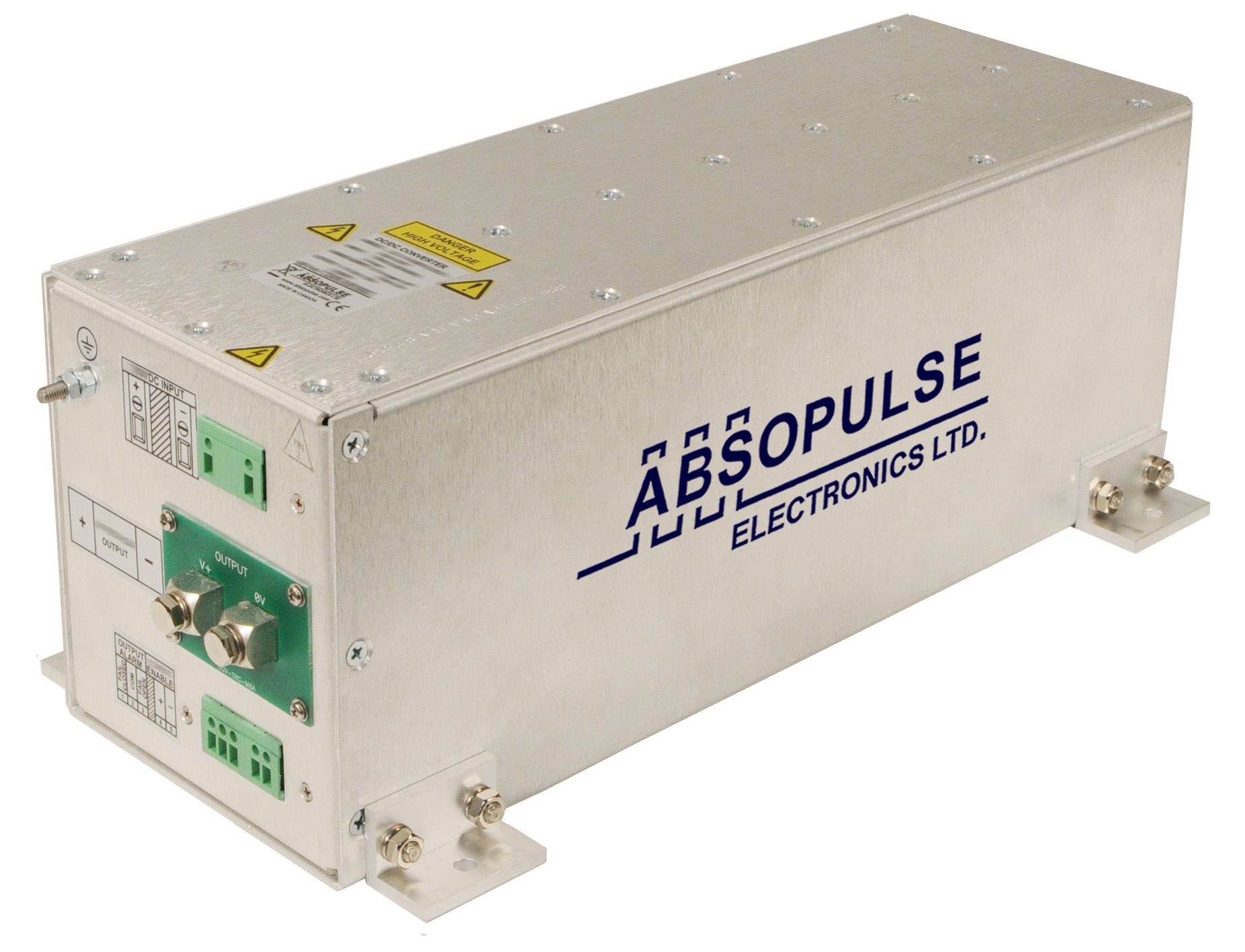 High-Input-Voltage DC-DC Converter Delivers up to 2000W