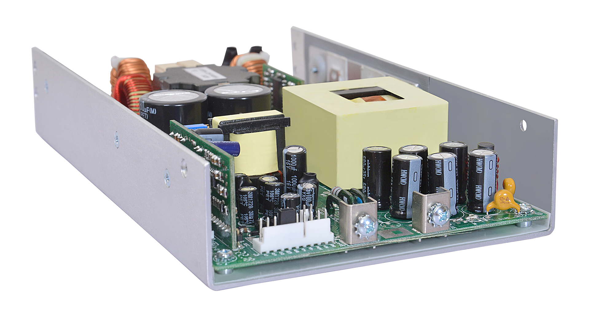 600 W AC-DC and DC-DC Convection-Cooled Power Supplies