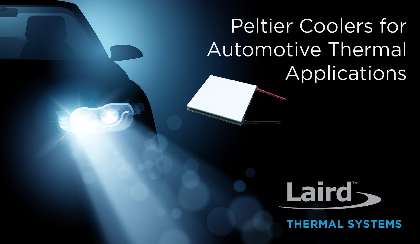 Peltier Coolers Provide Thermal Stability