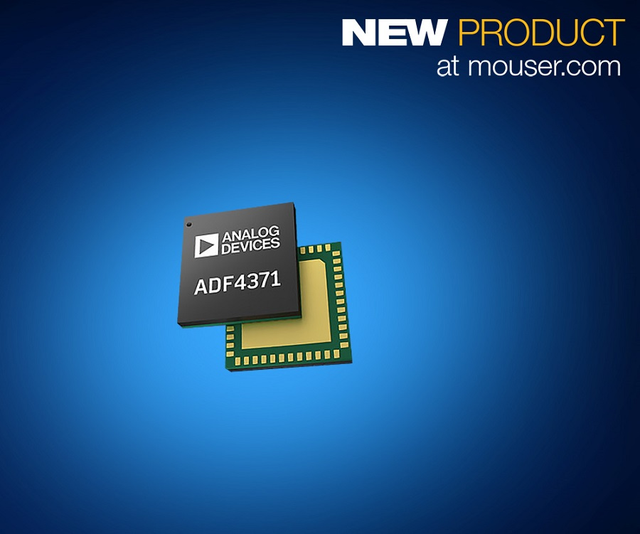 Analog Devices ADF437x Synthesizers, Now at Mouser