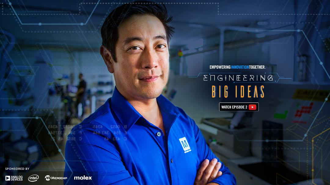 Mouser and Grant Imahara Explore Prototype Design with Arduino