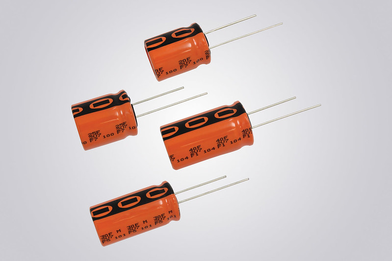 Energy Storage Capacitors Offer High Moisture Resistance
