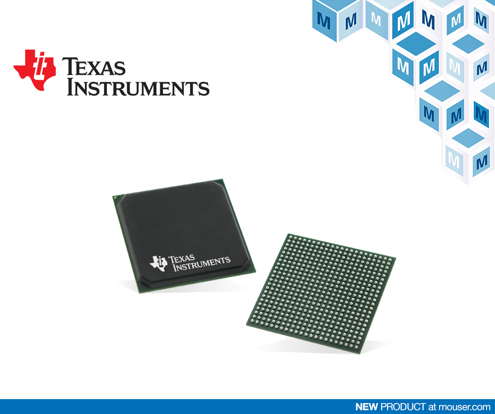 Now at Mouser: Texas Instruments Sitara AM574x Processors